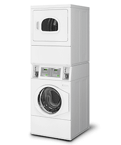 coin stack washer and dryer unit