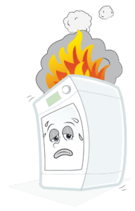 dryer on fire laundry equipment safety and dryer duct cleaning