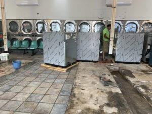 Amy's Laundry Install by Laundry Equipment Services