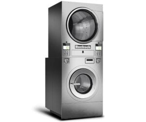 hst - vended coin operated stack washer dryer from Huebsch