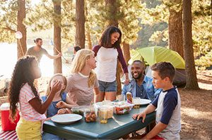 Guest laundry services for campgrounds