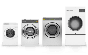industrial laundry equipment by Huebsch